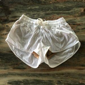 Lululemon White Shorts Size 4 NWOT
